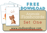 Animals Flashcards Set One