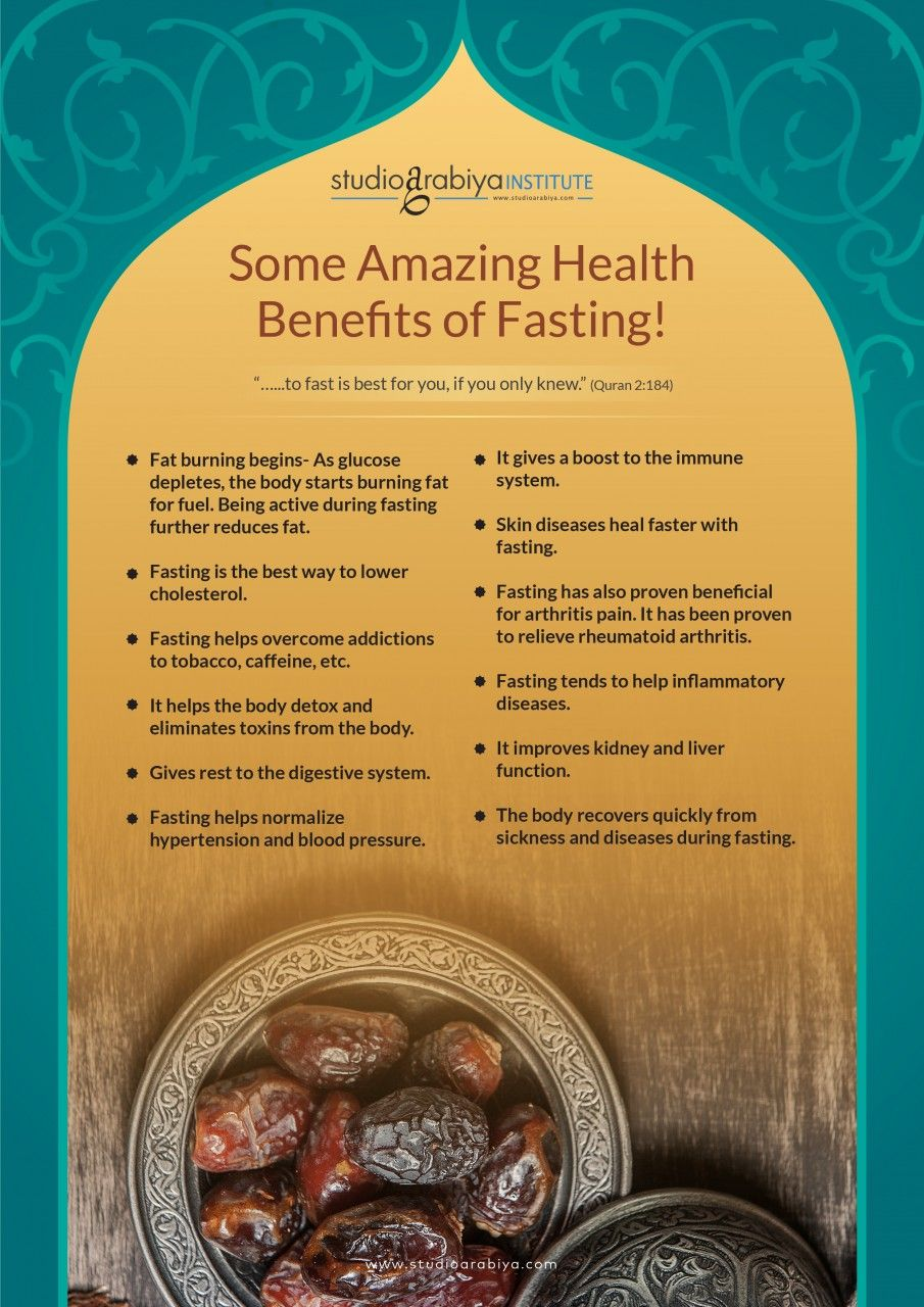 Amazing Health Benefits of Fasting