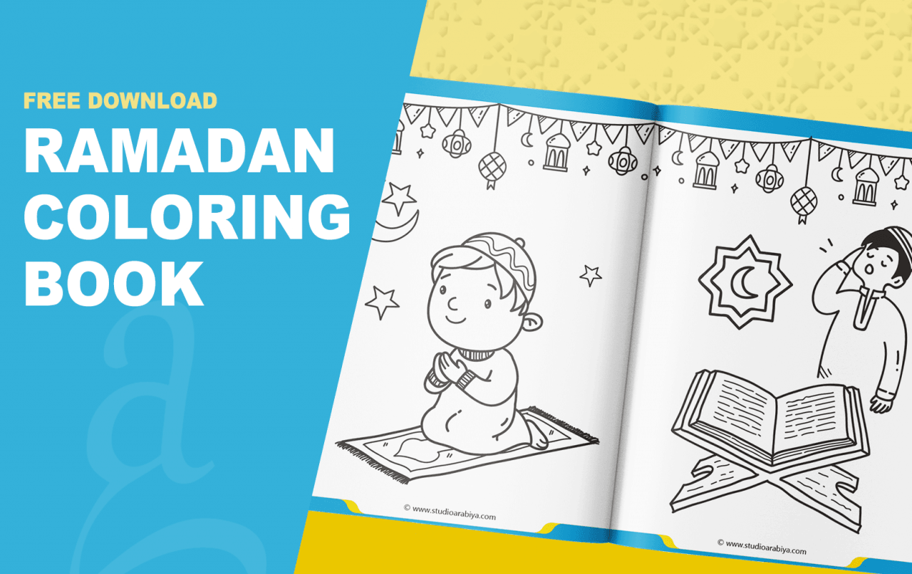 [FREE DOWNLOAD] Ramadan Coloring Book