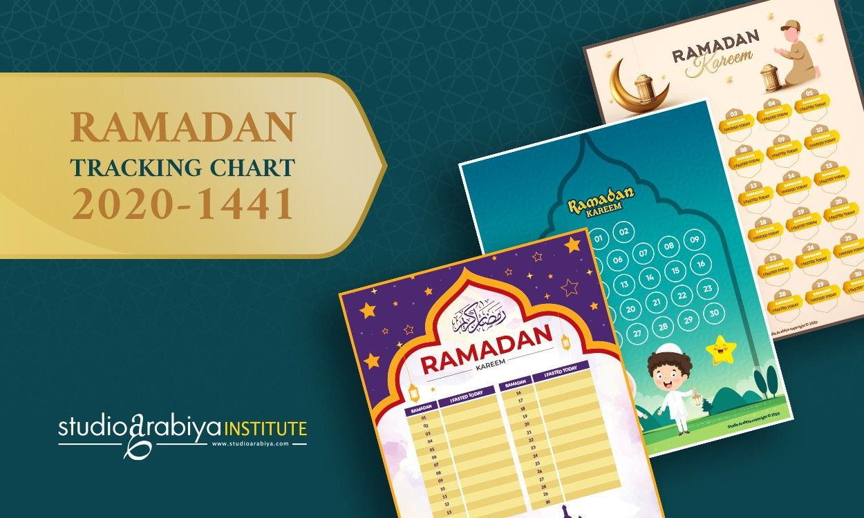 [FREE DOWNLOAD] Ramadan Fasting Charts Set