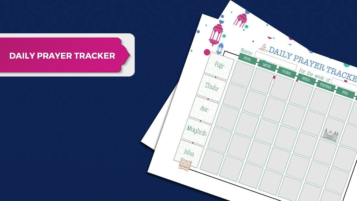 [FREE DOWNLOAD] Daily Prayer Tracker